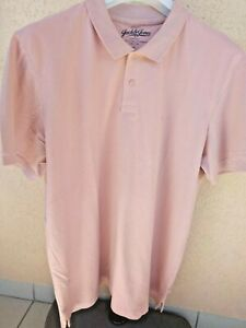Polo homme Jack Jones Beige Rose taille XL
