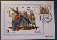MAXI CARD - FDC - ARTE DI CALTANISSETTA