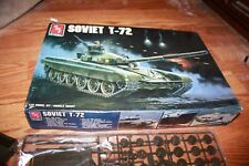 1/35 scale  AMT/Ertl  T72 Soviet Main Battle Tank