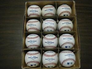 12 Rawlings MLB Rockies SIGNED nice MLB baseballs collect or batting practice?