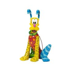 DISNEY BY ROMERO BRITTO PLUTO IL CANE DI TOPOLINO 4037546 IDEA REGALO ENESCO