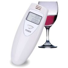 Digital LCD Alcohol Tester Breath Breathalyzer Breathalizer Detector Oblong