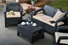 Keter Rattan Up to 4 Seats Garden & Patio Furniture Sets