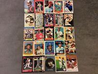HALL OF FAME Baseball Card Lot 1975-2012 ERNIE BANKS STEVE CARLTON TOM SEAVER