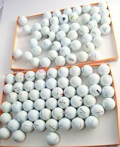 100 hochwertige gebrauchte Golfbälle der Marke TAYLOR MADE, viele TP etc