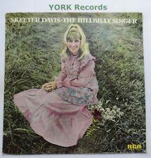 SKEETER DAVIS - The Hillbilly Singer - Ex Con LP Record RCA Victor LSP-4818