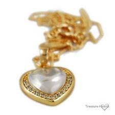 Yellow Gold Filled heart Fashion Necklaces & Pendants