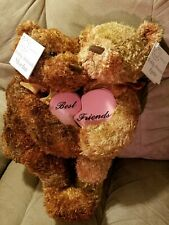 The Mulberry Bush Bear Collection by RBI Teddy Friends Mocha & Latte