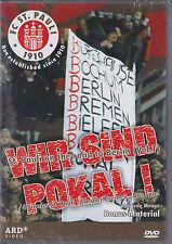 FC St. Pauli - Wir sind Pokal! - DVD - Neu und originalverpackt in Folie