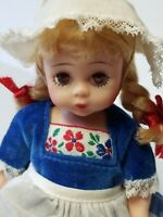 "Madame Alexander 8"" Vintage DUTCH Doll in Original Outfit"