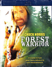 Forest Warrior (Blu-ray Disc, 2012) Chuck Norris New