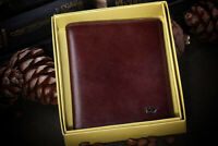 Genuine Leather Cover, Braun Buffel Case for Passport