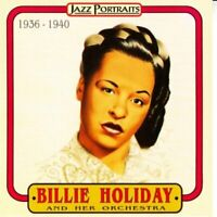Billie Holiday & Her Orchestra - 1936 - 1940 Jazz Portraits CD NEW/SEALED