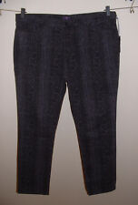 NWT NYDJ LIFT TUCK HIGH WAIST SKINNY PYTHON PRINT STRETCH JEANS PANTS SIZE 24W