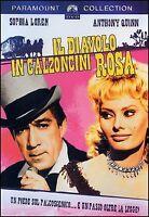 Il Diavolo in Calzoncini Rosa DVD Nuovo Sigillato Sofia Loren Antony Quinn N