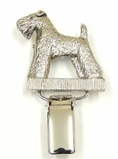 Kerry Blue Dog Show Ring Clip/ Ring Number Holder