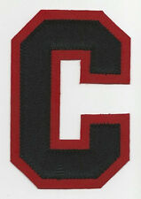 "CHICAGO BLACKHAWKS CAPTAINS ""C"" SEWN PATCH FOR ROAD WHITE JERSEY TOEWS"