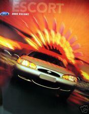 2000 Ford Escort sedan new vehicle brochure