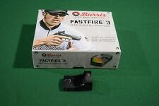 Burris FastFire 3 MOA Red Dot Reflex Sight Tactical Mount Pistol Rifle Shotgun