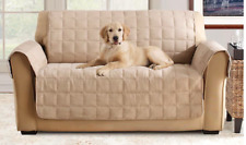Sure Fit Suede Sofa Waterproof Furniture / Pet Cover in Taupe *SALE*