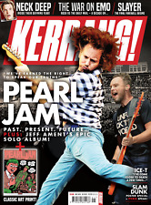 KERRANG! magazine 26 May 2018 - Pearl Jam & art print Mike Shinoda Linkin Park