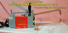 Alpha Spot Weld EXTRA LONG ARM 240V Portable Spot Welder + 2 Tip Sets (2mm/5mm)
