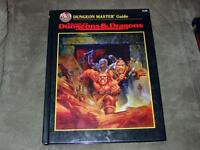 TSR AD&D - Advanced Dungeons & Dragons - Dungeon Master Guide - #2160 2nd Edtion