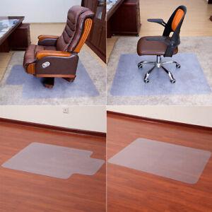 Computer Chair Floor Mat Desk Non Slip Carpet Protector Protection Office Home