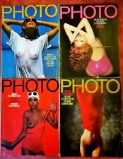 LOT 4 Magazines PHOTO No 99 No 101 No 102 No 108  1975 : 1976 Bon Etat !