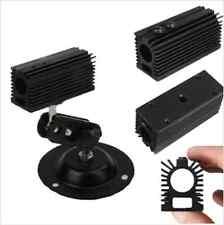 BLACK Aluminum Heat Sink HeatSink for 12mm LASER Host Base