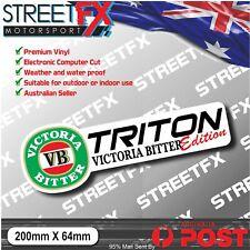 Triton VB Edition Sticker Decal 4x4 4WD Beer Ute For Mitsubushi Triton