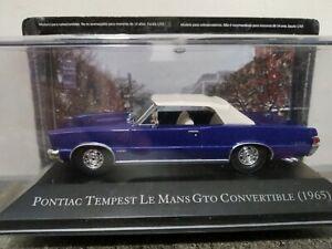 Pontiac Tempest Le Mans Gto Convertible 1965 Altaya 1:43 Colección Coches...