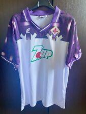 Maglia Batistuta Fiorentina 92-93 Rara Vintage Retro No Match Worn Serie A Shirt