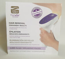 Silk'n Flash & Go Permanent Hair Removal Device Men & Women 5000 Pulses Open Box