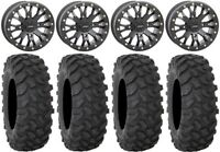 "System 3 SB-4 Black (6+1) 15"" Wheels 32"" XTR370 Tires Can-Am Defender"