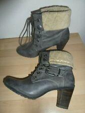 STIEFELETTEN Boots - grau - gefüttert - * S. OLIVER * - Gr. 39 - *NEUw.