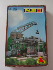 NEW #2137 N Faller Model Coaling Station Building Kit Made In West Germany