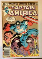 CAPTAIN AMERICA #278- BARON ZEMO II -NEWSSTAND- Falcon & Winter Soldier