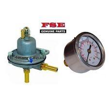 Genuine FSE Adjustable Fuel Pressure Regulator + Pressure Gauge (1-5 BAR) AIR004