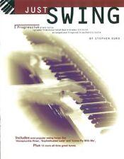Just Swing Progressive Piano Solos Stephen Duro Book Sheet Music Grades 3-5 S25