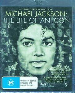 MICHAEL JACKSON The Life Of An Icon BLU-RAY Disc NEW & SEALED Free Post + Track