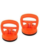 2 New Suction Cup Dent Puller Pullers Metal Glass Lifter Powerful Popper Remover