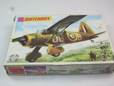 MATCHBOX 1/72 MODEL AIRCRAFT KIT PK-7 Westland Lysander Unmade in 1st Issue Box