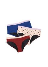 (3) THINX (BTWN)  Period Kit Absorbent Girls Undies Size 11/12 NWOT