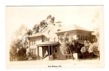 CA - SAN DIMAS CALIFORNIA RPPC Postcard BUILDING - SCHOOL LIBRARY HOME??