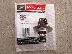 FORD LINCOLN MERCURY 7L3Z8575E MOTORCRAFT RT1254 ENGINE COOLANT THERMOSTAT NEW
