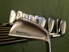 MIZUNO NOTUS SYNCHRO TURN 55 IRON SET 3-P PW SW & F WEDGE 10 CLUBS