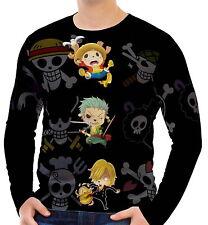 One Piece Herren Langarm T-Shirt Tee wa2 aao30400