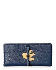 MARC BY MARC JACOBS Continental Bifold Bird Petal To The Metal Wallet Navy $178