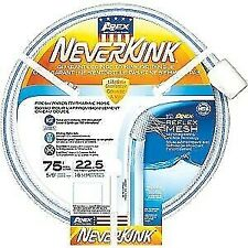 "RV Apex RV  NeverKink 5/8"" x 75' Drinking Fresh Water Hose 8602-75"